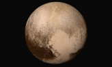 An image of Pluto's true color