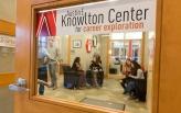 Knowlton Center door