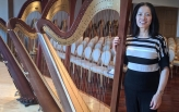 Ni Yan with new Harp