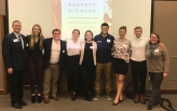 Sexual Respect dinner student leaders