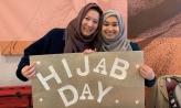 Hijab Day Sign