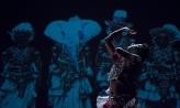 Sudesh Mantillake performs his work My Devil Dance