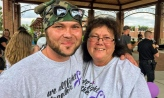 Trish Perry and her son Billy