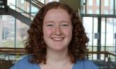 Caroline Bremer '21 Charles J. Ping Student Service awardee