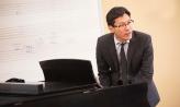 Sun Min Kim teaching