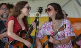 Sydney Kistler and Ansley Maynard performing at the Ohiolina festival