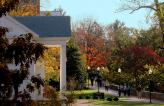 denison campus in the fall