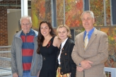 David Woodyard, Julia Milano, Joy Sperling, & Karl Sandin - 2014 Senior Symposium
