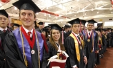 Students at Commencement 2011
