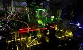 lazer beams in lab