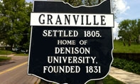 Welcome to Granville sign