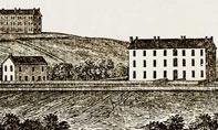Historical illustration of campus