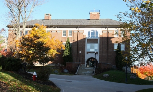 F.W. Olin Science Hall Building Image