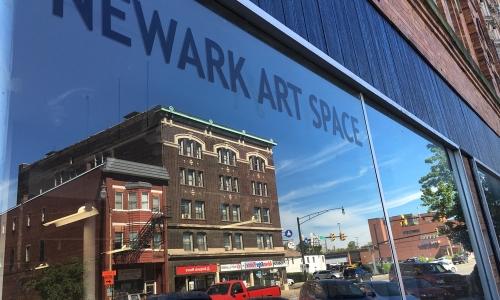 Denison Art Space in Newark building front