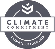 Climate Commitment logo
