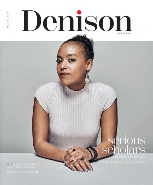 Denison Magazine Fall 2018 Cover
