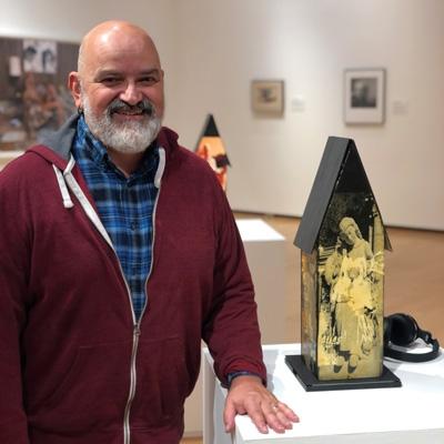 Ron Abram with art