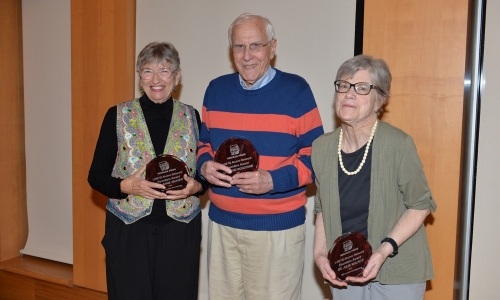 Julie Mulroy, Anne Shaver, and David Woodyard