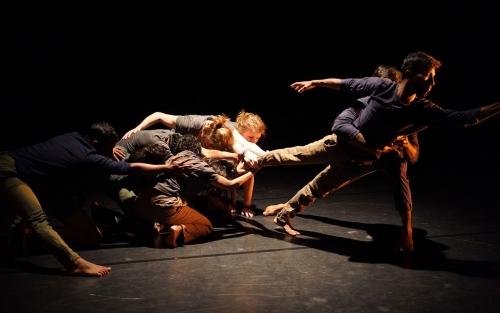 Dance department student performance