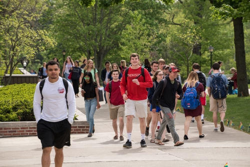Students on Chapel walk