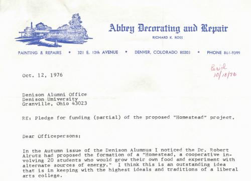 Letters & Correspondence