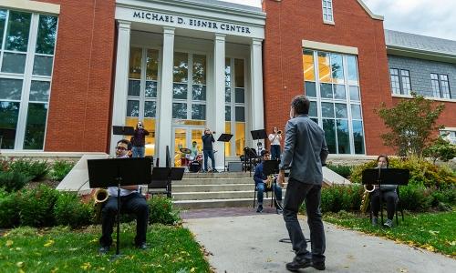 Performance outside the Eisner Center