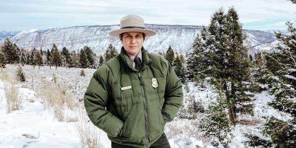 Sarah Davis '94, Chief Ranger at Yellowstone National Park