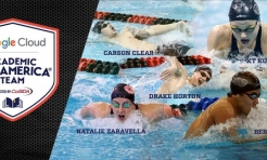 Five Denison Swimmers Earn Google Cloud Academic All-America Accolades