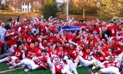 Football Tops Kenyon, Clinches Share of NCAC Championship