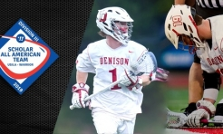 Waxter and DeCamp Earn Scholar All-America Honors
