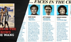 Denison Swimmer Bebe Wang is Featured by Sports Illustrated
