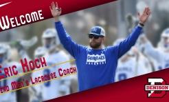 Eric Koch named Head Men's Lacrosse Coach
