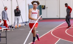 Big Red track & field outduels Bishops, 75-66