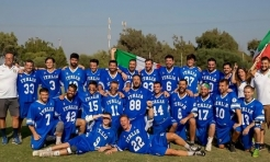 Kevin McKee '02 Coaches Italy in World Championship Lacrosse