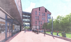 Silverstein Hall Will Anchor Residential Living for Senior Students