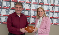 Generous Gift Endows Position of Head Football Coach