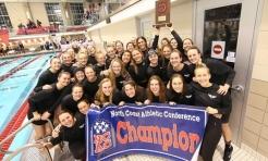 Denison women win the 2020 NCAC Championship