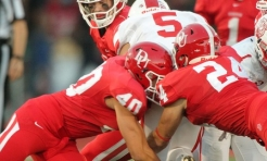 Defense Leads Big Red Football to Comeback Win Over DePauw