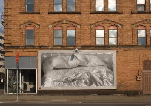 billboard in the city