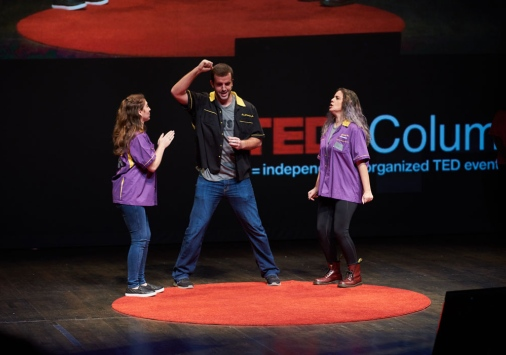 The Burpees at TEDx Columbus