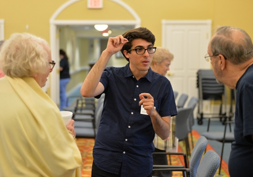 Ponce talks with Kendal residents