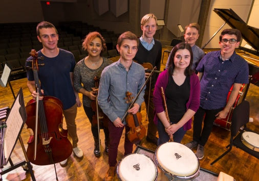 The New Music Ensemble dives deep into the composers and music of today.