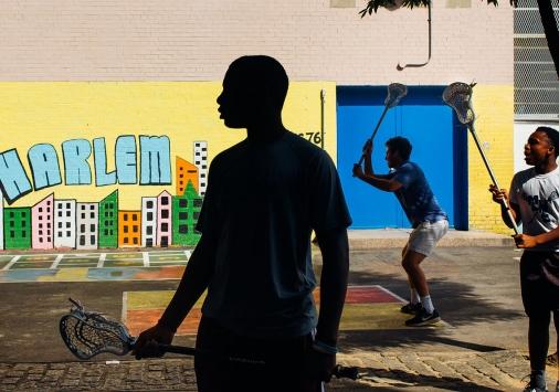 Harlem Lacrosse-opener