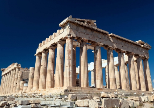 greek column structure