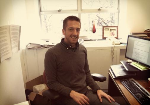 Visiting Assistant Professor of Philosophy Dr. John McHugh