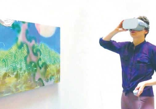 Al DiLorenzo, 'Painting Virtual Reality'