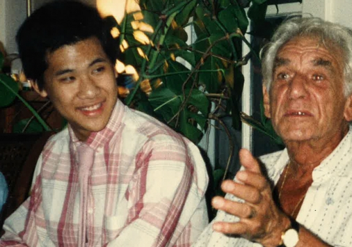 Ching-chu Hu and Leonard Bernstein