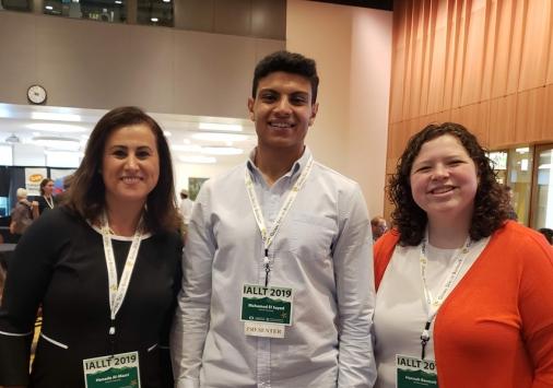 Hanada Al-Masri, Mohamed El-Sayed, Hannah Bennet
