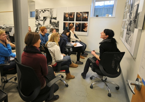 Sheilah ReStack's photography class