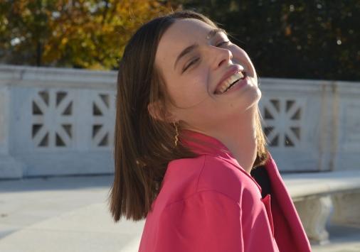 Elle Stevens '20 on Capitol Hill